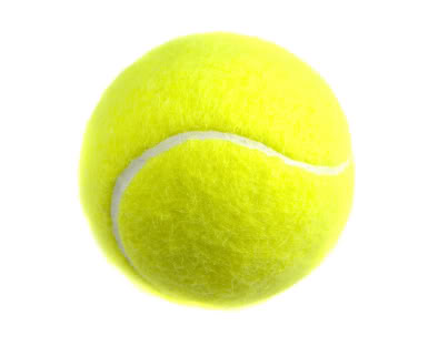 Fuzzy Yellow Ball